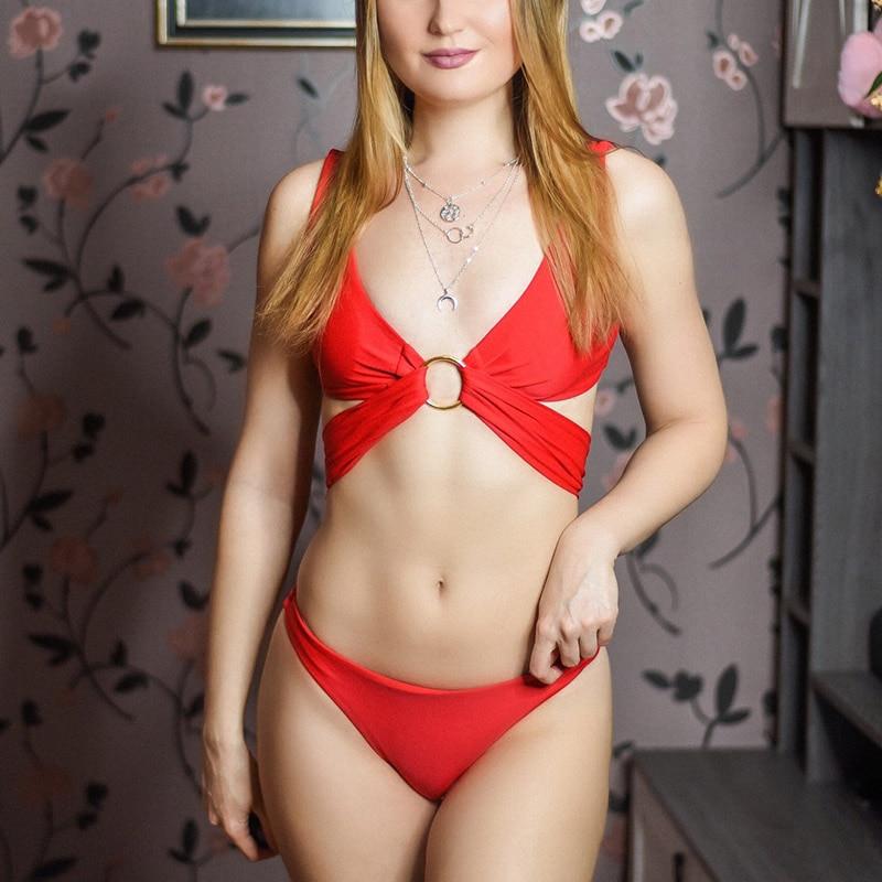 Bikini en Croix Sexy Rembourré