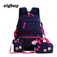 Star Printing Children Backpacks For Teenagers Girls Lightweight Waterproof School Bags Child Orthopedics Schoolbags Backpack