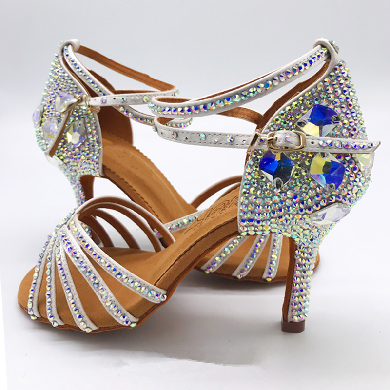 Crystallized Dance Shoes Ballroom Dance Shoes Ladies