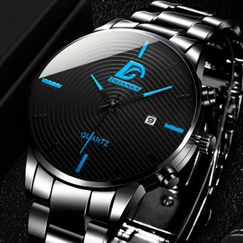 Mens Fashion Luxury Top Brand Watches Men Business Casual Stainless Steel Quartz Watch Minimalism Male Watch relogio masculino dom men watches top brand luxury quartz watch casual quartz watch black leather mesh strap ultra thin fashion clock male relojes