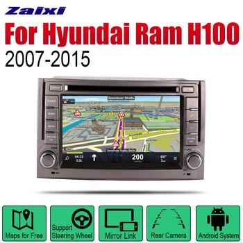 ZaiXi Android Car Radio Stereo DVD GPS Navigation For Hyundai Ram H100 2007~2015 Bt wifi 2din Car Radio Stereo Multimedia Player