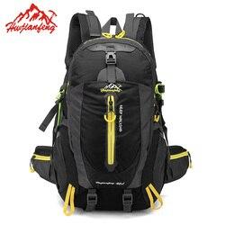 40L Wasserdicht Klettern Rucksack Rucksack Outdoor Sporttasche Reise Rucksack Camping Wandern Rucksack Frauen Trekking Tasche Für Männer