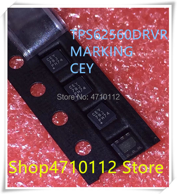 NEW 10PCS/LOT TPS62560DRVR TPS62560 MARKING CEY SON-6 IC