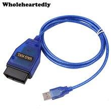 Usb VAG-COM 409.1 vag com 409com vag 409 kkl obd2 usb cabo de diagnóstico varredor interface ferramenta verificação para vw audi seat volkswagen