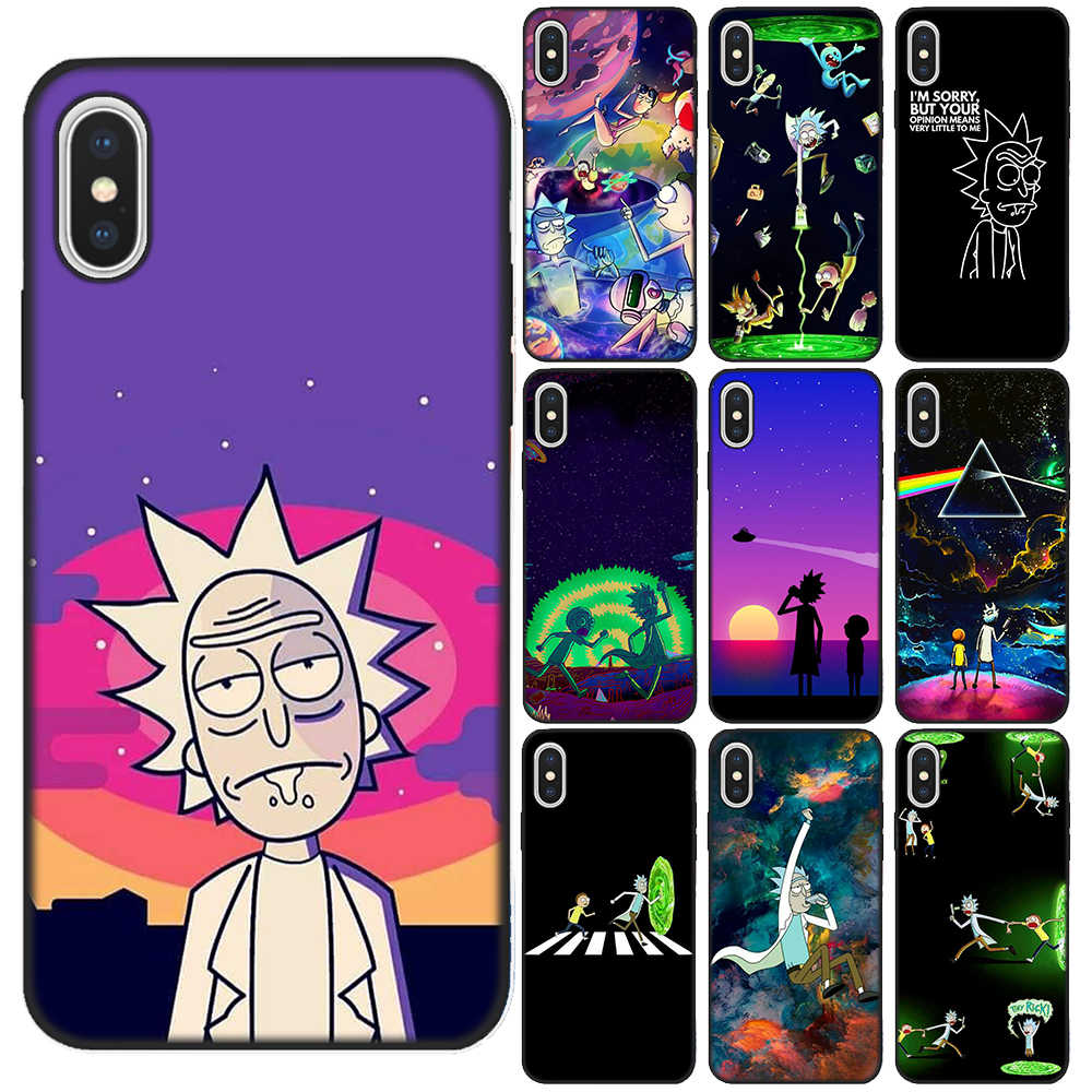 coque iphone 11 rick and morty
