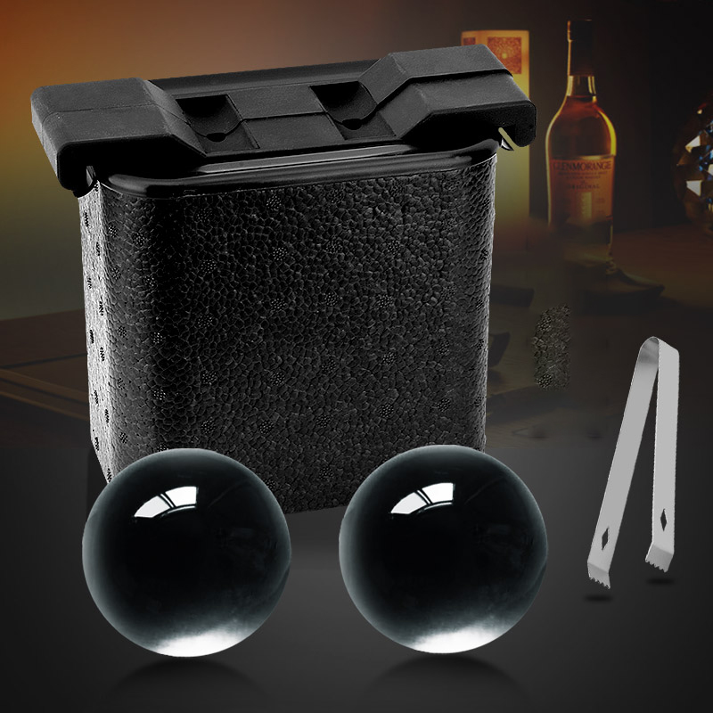 Large Silicone Ball Skull Diamond Ice Maker Creative Whiskey Rocks Beer Champagne Cooler Home Party Bar Tools in Wine Coolers Chillers from Home Garden