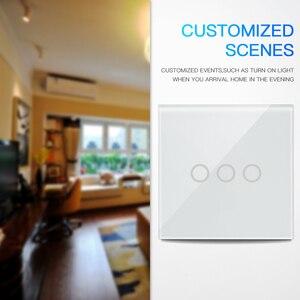 Image 5 - NEO Coolcam 5A Wifi duvar ışık anahtarı 3 Gang dokunmatik duvar dokunmatik anahtarı desteği Alexa, Google asistan IFTTT