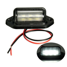 License-Plate-Light Car-Accessories Trailer-Step-Lamp Truck Waterproof IP65 1PCS High-Quality