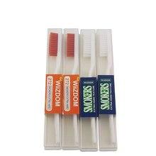 4 pacote super duro escova de dentes cuidado oral extra cerdas duras projetadas para fumantes escova de dentes adulto