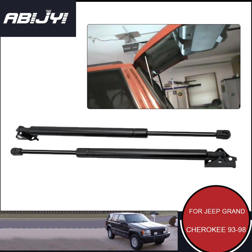 For Jeep Grand Cherokee 1993-1998 Rear Gas Lift Supports Struts Springs Shocks