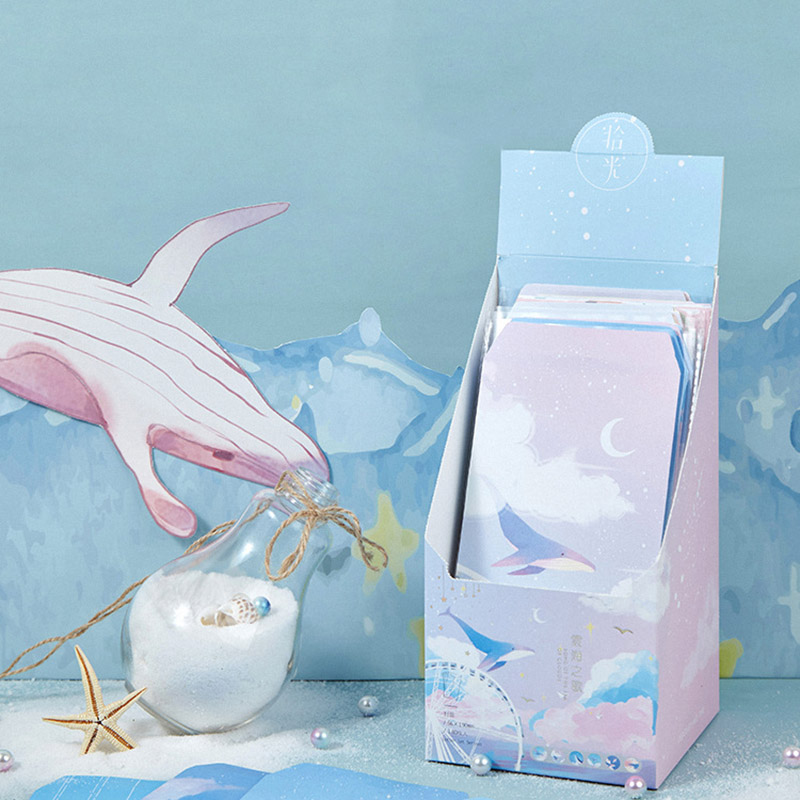 6Pcs Kawaii Cherry Envelope Cute Whale Writing Paper Letter Envelope For Kids Gift School Supplies Stationery