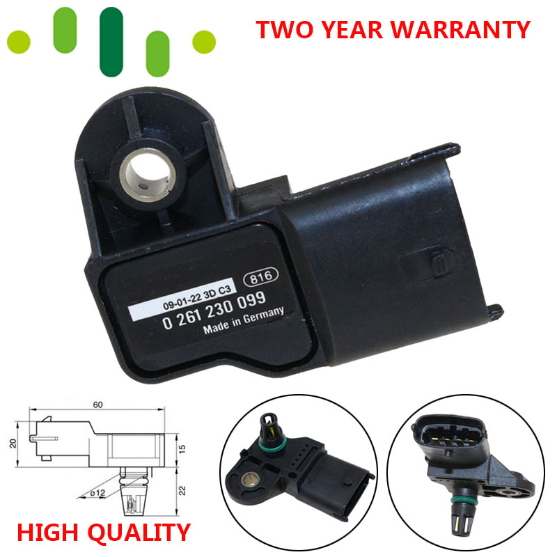 Original MAP Sensor Intake Air Pressure Sensor 37830 PWE G01 For Honda Jazz Civic Stream 0261230099 For Chevrolet Chery Polaris|Pressure Sensor|Automobiles & Motorcycles - title=