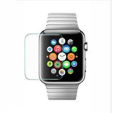 Ультратонкая защитная пленка Smude-Resistant Shatter-proof закаленное стекло подходит для Apple Watch для защиты часов