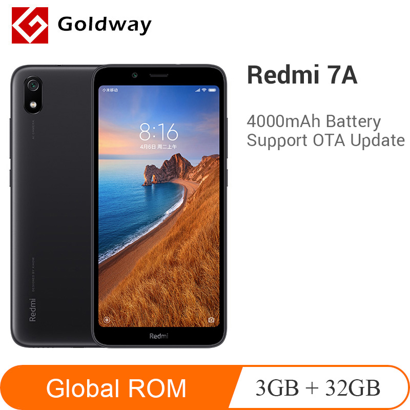 Global Rom Xiaomi Redmi 7A 7 A 3GB 32GB Smartphone Snapdargon 439 Octa Core 4000mAh Battery 5.45