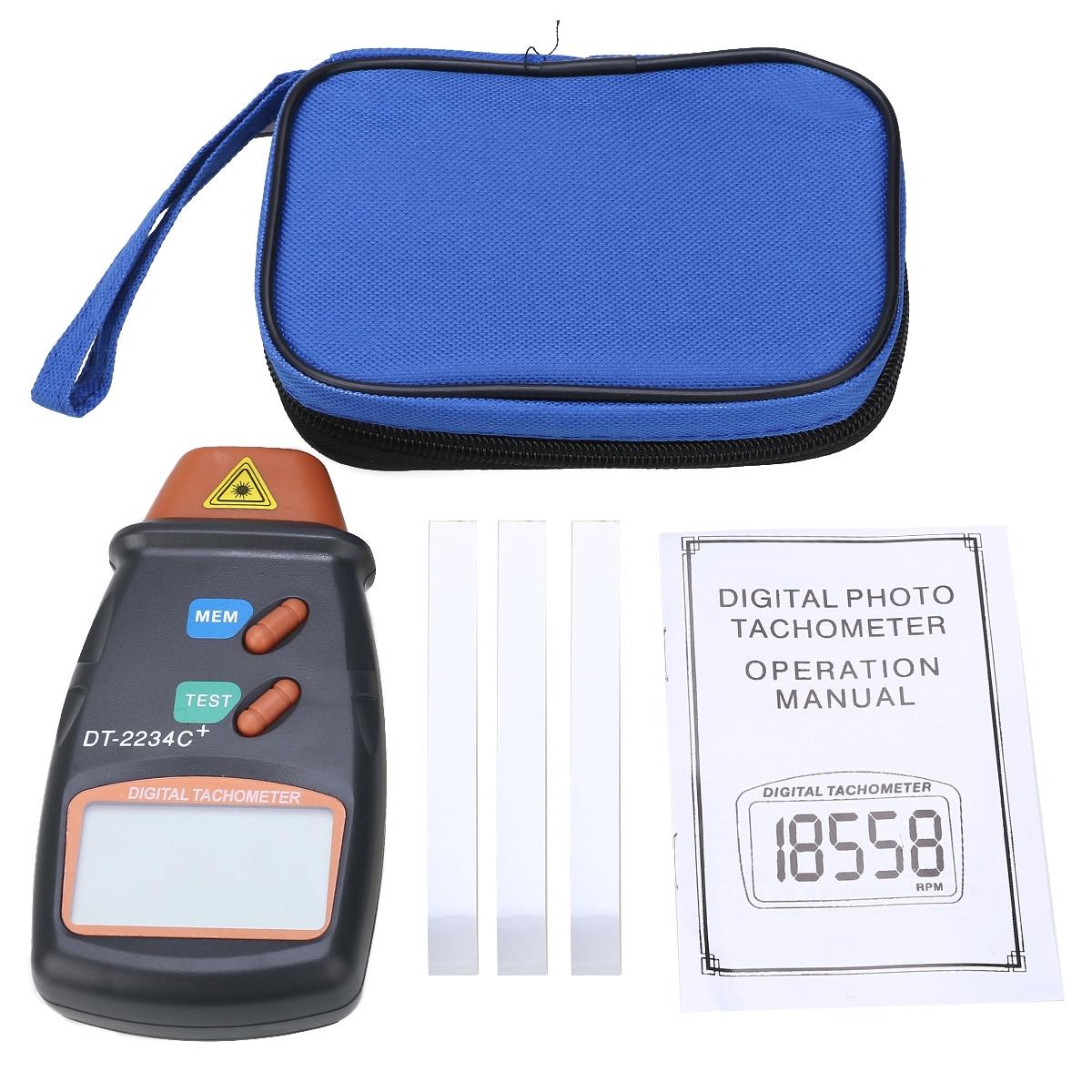 dt2234c não-contato tacômetro rev rpm contador para