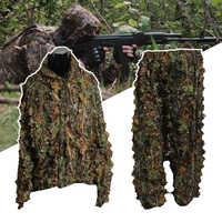 3D feuille adultes Ghillie costume forêt Camouflage/Camouflage chasse cerf traquer dans
