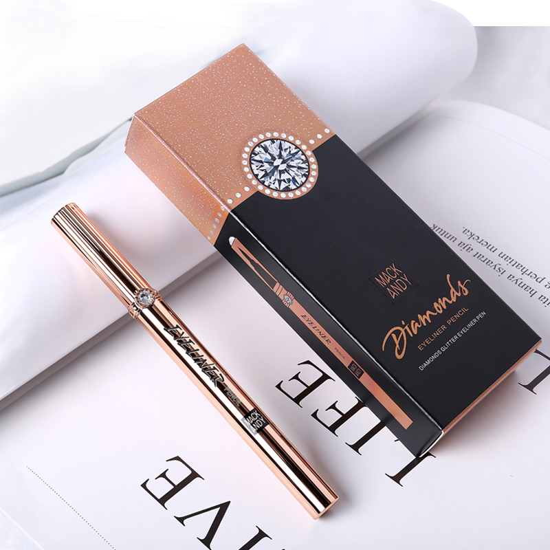 Professional Fast Dry Eyeliner Pen Soft Smooth Waterproof Non-blooming Pro Makeup