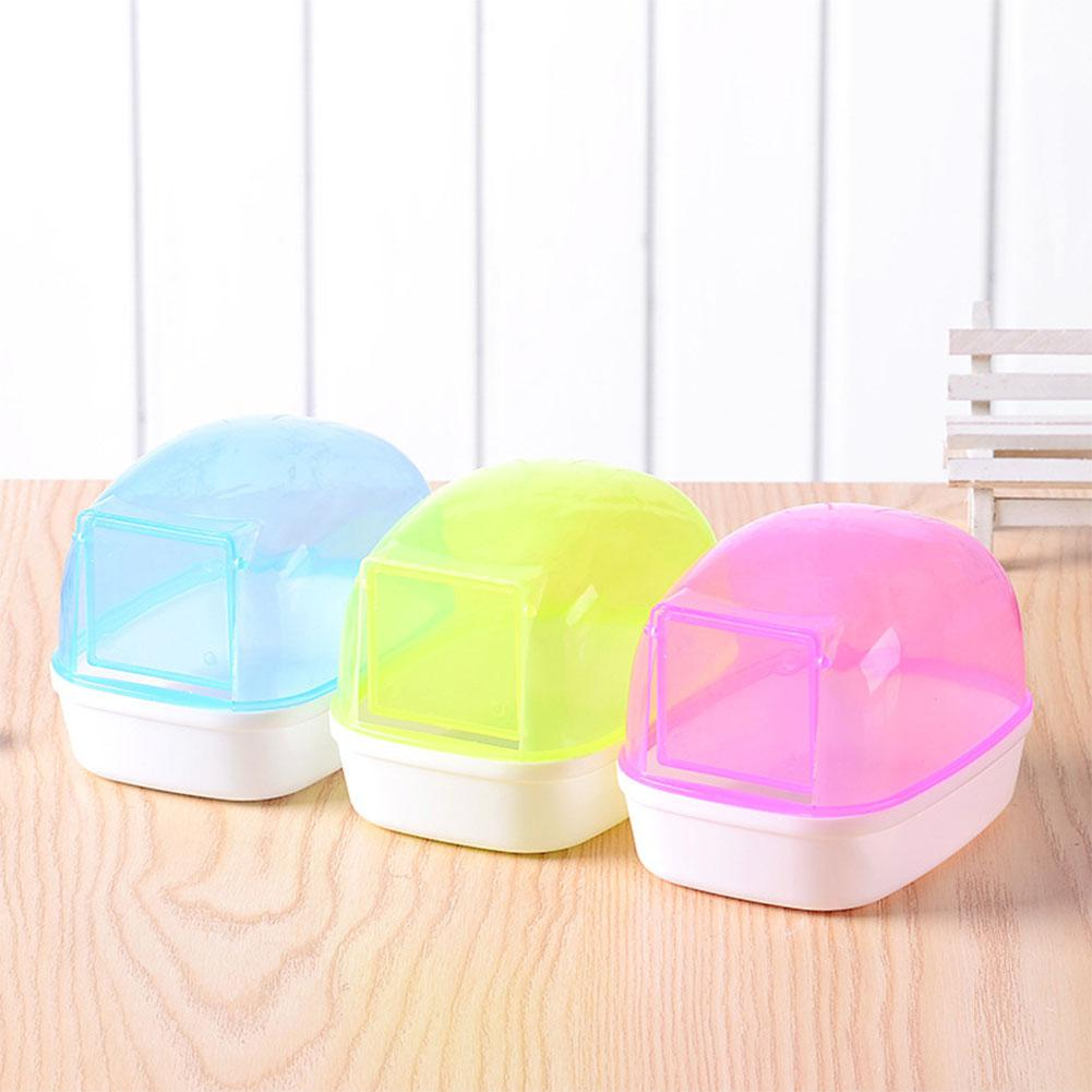 Hamster Small Pet Bathroom Small Pet Sauna Bathtub Small Pet Hamster Activity Room Sauna Toilet Bathtub