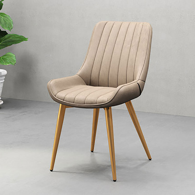 Nordic Bar Chair Recreation Modern Simple Iron Art Backrest Stool Soft Sofa Two Kinds Of Legs Various Colors
