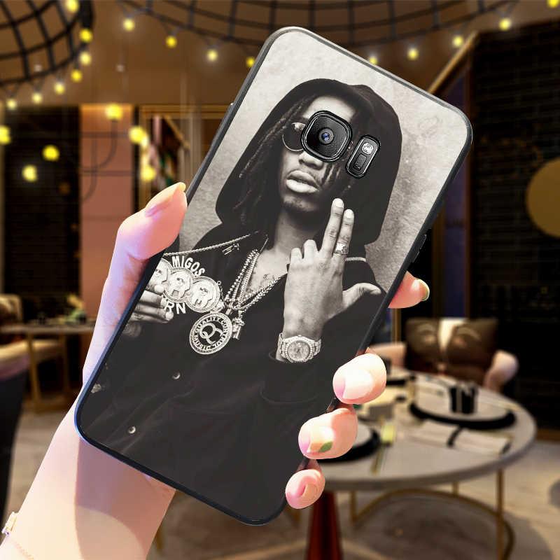 Migos fundas de teléfono móvil para Samsung A5 3 6 7 8 9 10 A10 A20 30 40 50 60 70 cubierta de silicona suave M40