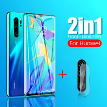 100D protective glass on hawei p30 pro glass light camera protector lens film for huawei p 30 lite pro safety glasses p30lite(China)