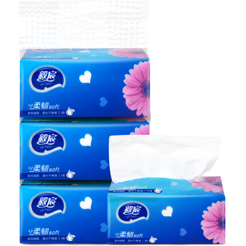 3 Packs Pumping Paper Baby Soft Toilet Paper Safe Skin Friendly Kitchen Paper Household Cleaning Supplies Toilet Tissue Paper