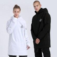 Snowboard Jacket Snow-Clothes Waterproof Women Winter Coat Hoodie Couple Outdoors Lovers