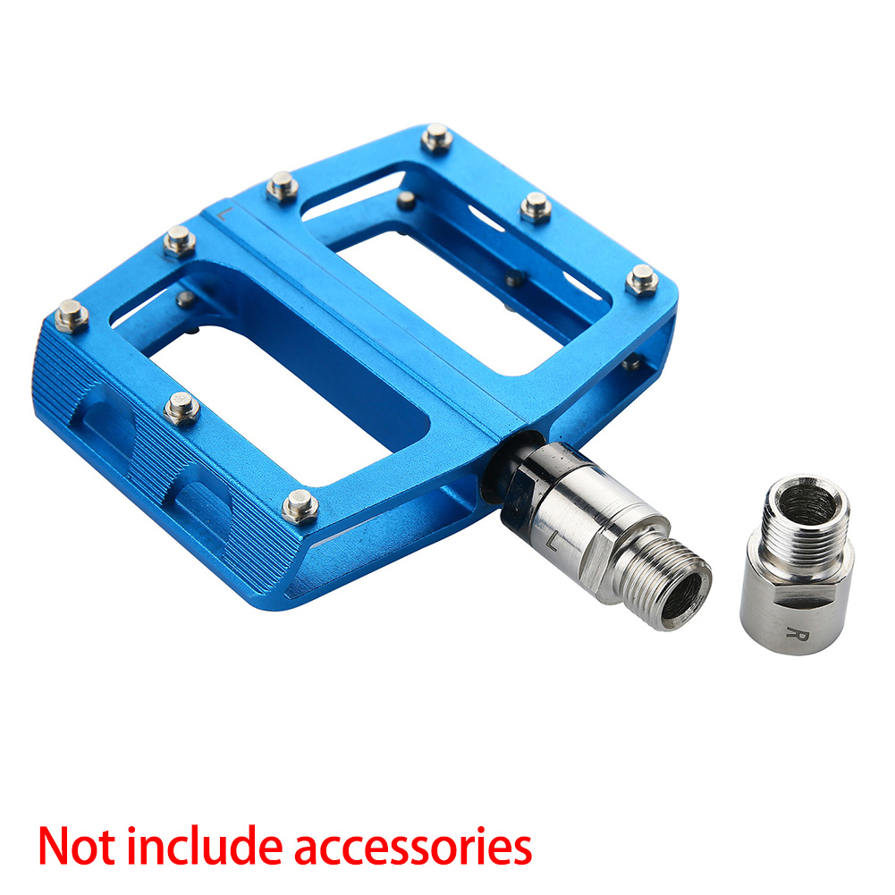 Details about  /1 Pair Cycling Part Pedals Bicycle Screw Bearing Wide Posture Extended Expander