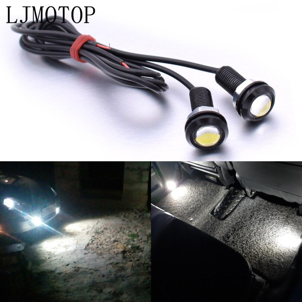 For BMW K1300 S R GT K1600 GT GTL R1200GS ADVENTURE Eagle Eye LED Reverse Backup Light Daytime Running Signal Motorcycl Lamp