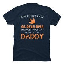Engineer Developer Tshirt IT Programmer Father Tshirt 3D Print Leisure Fashion Streetwear Oversized Europe Adult Tops & Tees