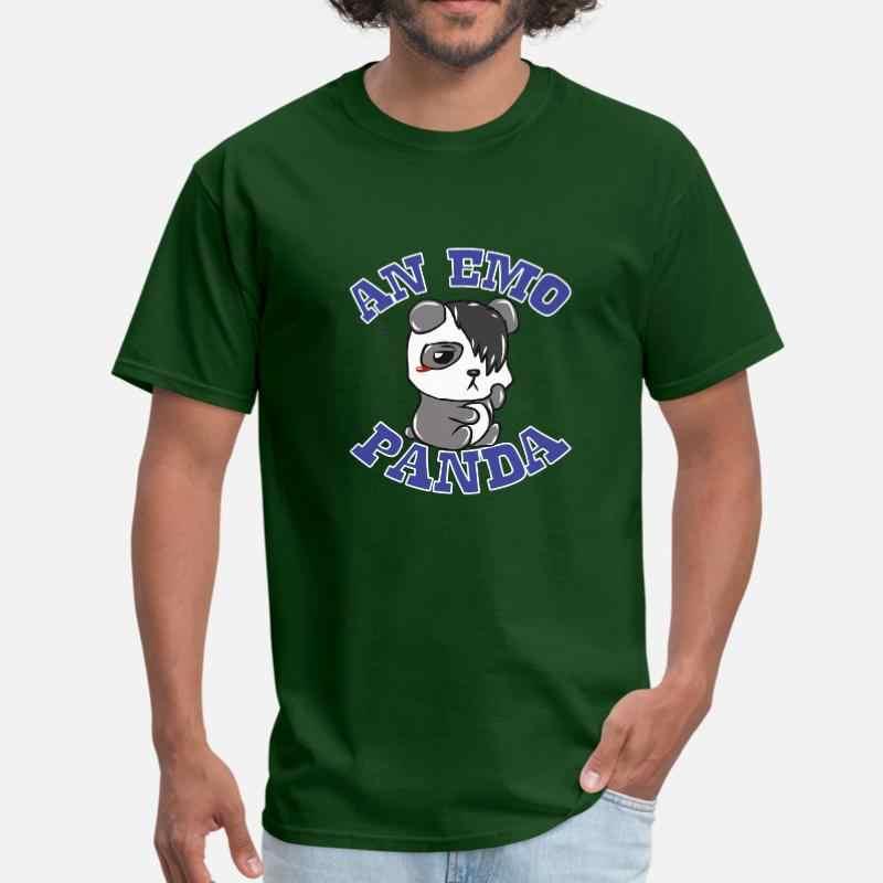 カスタマイズ Emo パンダ Tシャツメンズガールボーイズ入出力ネック衣装 Tシャツメンズサイズ Xxxl 4xl 5xl 服ヒップホップ