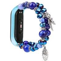 Strap für xiaomi mi band 4 armband Schmuck Ersatz Armband Xiaomi Mi Band 3 Zubehör Mode Smartwatch Bands Frauen