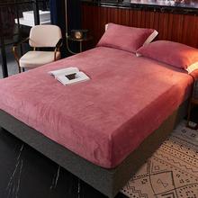 Elastic-Band Bed-Sheets 180x200 Cama Sabanas Winter Coral Soft Bonenjoy Queen-Size Warm