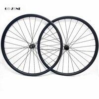 29er mtb карбоновое колесо асимметричное 40x25 мм am бескамерные колеса для велосипеда DT350S boost/100x15 142x12 через мост велосипед карбоновый диск колесн...