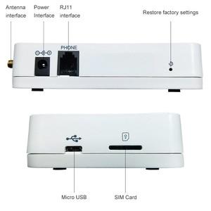 Image 3 - Gsm 850/900/1800/1900mhz telefone fixo terminal sem fio suporte do sistema de alarme pabx clara voz sinal estável landlines módulo
