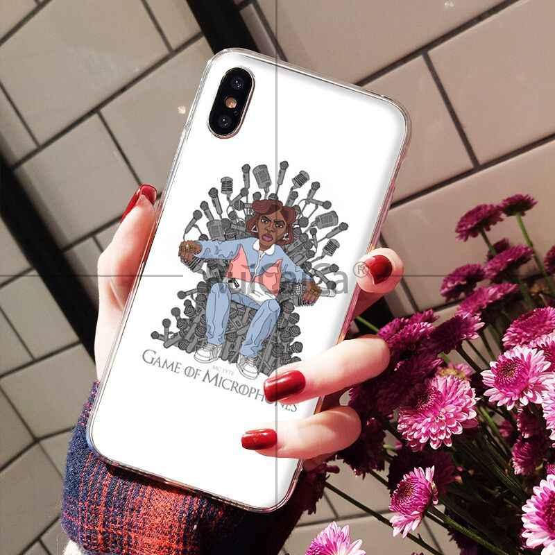 Ruicaica rappeur RAP Hiphop TPU housse de téléphone en Silicone souple pour Apple iPhone 8 7 6 6S Plus X XS MAX 5 5S SE XR couverture