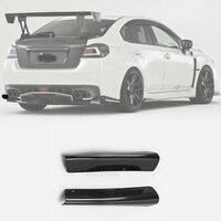 Carbon/Glass Fiber Bumper Spat For Subaru WRX STI S4 VAB VAF 14 18 VRSA1 Style Rear Bumper Side Splitter Fin Body Kit WRX Racing