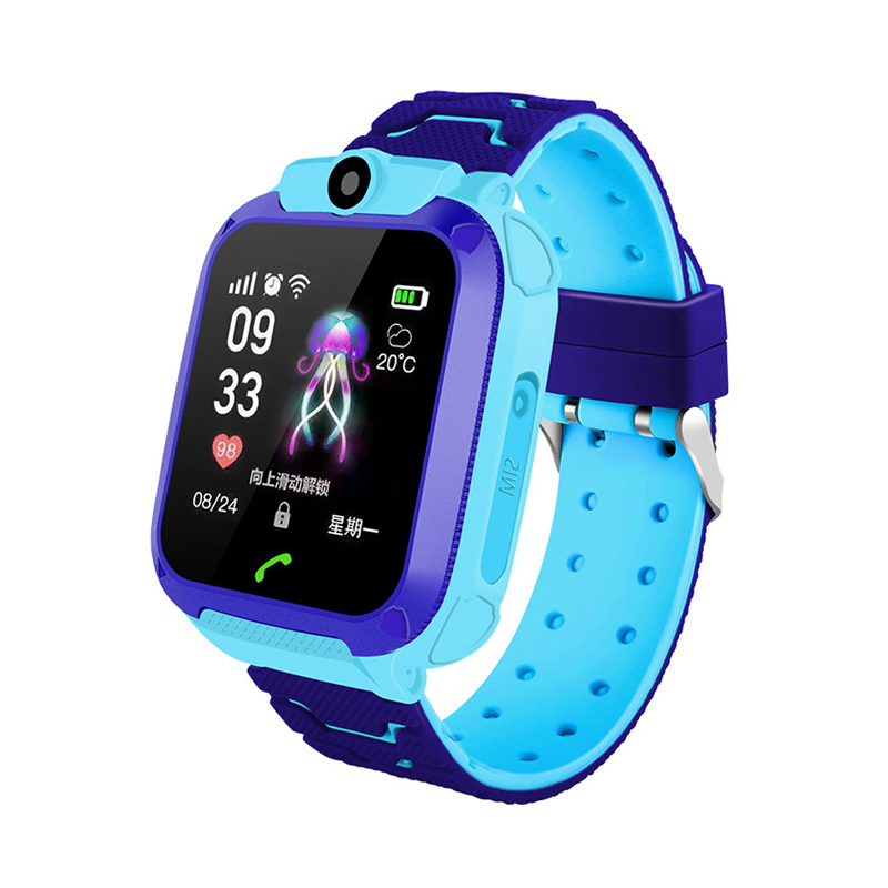 Kids Smart Watch Waterproof IP67 Phone Watch Smartwatch Kids With Sim Card Photo Q12 Kids Gift For IOS Android