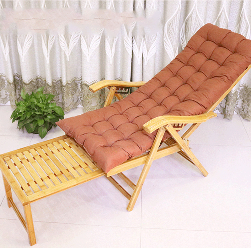 Bamboo Recliner Folding Lunch Break Home Nap Adult Chair Lazy Elderly Leisure Chair Recliner Chair