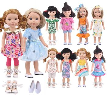 Doll Clothes Shoes Dress Skirt For 14.5 Inch Nancy American Doll&32-34Cm Paola Reina Doll Our Generation Girl`s Toy Russia DIY image