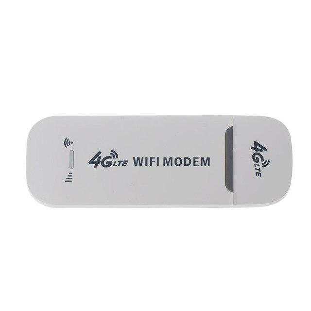 4G Router wi-fi 150 mb/s Modem USB bezprzewodowy dostęp szerokopasmowy mobilny Hotspot LTE 3G/4G odblokuj klucz z gniazdo SIM Stick data Card