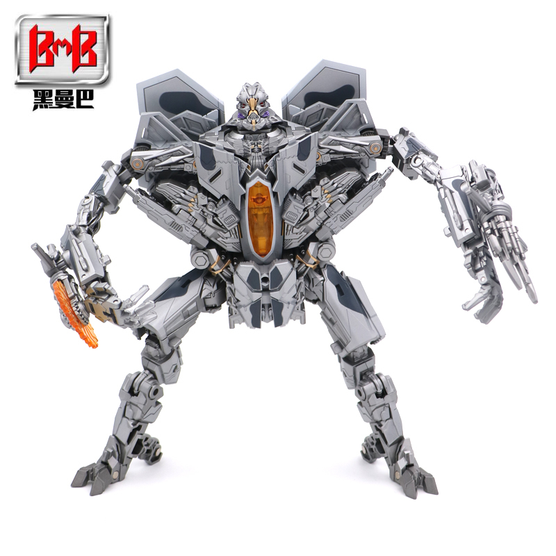 BMB LS-04 LS04 Transformation Action Figure Toy Starscream Movie Model Oversize 27CM ABS Alloy KO SS06 Deformation Car Robot