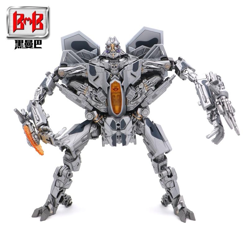 BMB LS-04 LS04 Transformation Action Figure Toy Starscream Movie Model Oversize 27CM ABS Alloy KO SS06 Deformation Car Robot