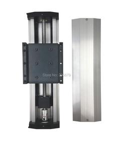 Image 3 - Бесплатная доставка, эффективный ход 50 400 мм, шариковый винт 1204 1605 1610, герметичный пыленепроницаемый линейный направляющий рельсовый слайд, модуль CNC XYZ Aixs