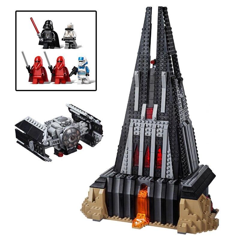 05152 Star The Castle Set Wars avec lepining7525 Starwars blocs de construction brique assemblé cadeau de noël jouet