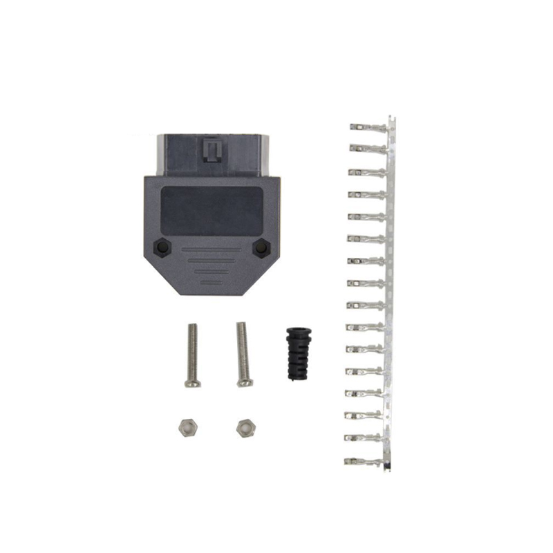 Normal OBD <font><b>OBD2</b></font> OBDII <font><b>16</b></font> <font><b>Pin</b></font> <font><b>Female</b></font> connector 16P OBD image