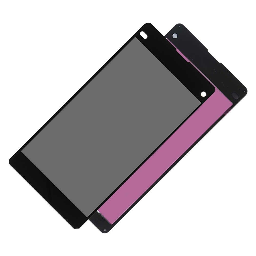 100% testé LCD pour Sony Xperia Z1 Mini Compact D5503 M51W LCD écran tactile numériseur assemblage panneau pièces de rechange