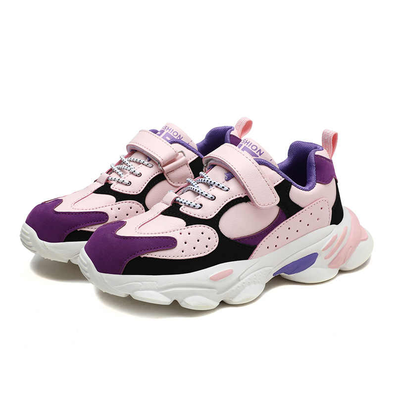 Lente Herfst Jongens Meisjes Sneaker Casual Mode Schoenen Non-Slip Kinderen Sport Schoenen