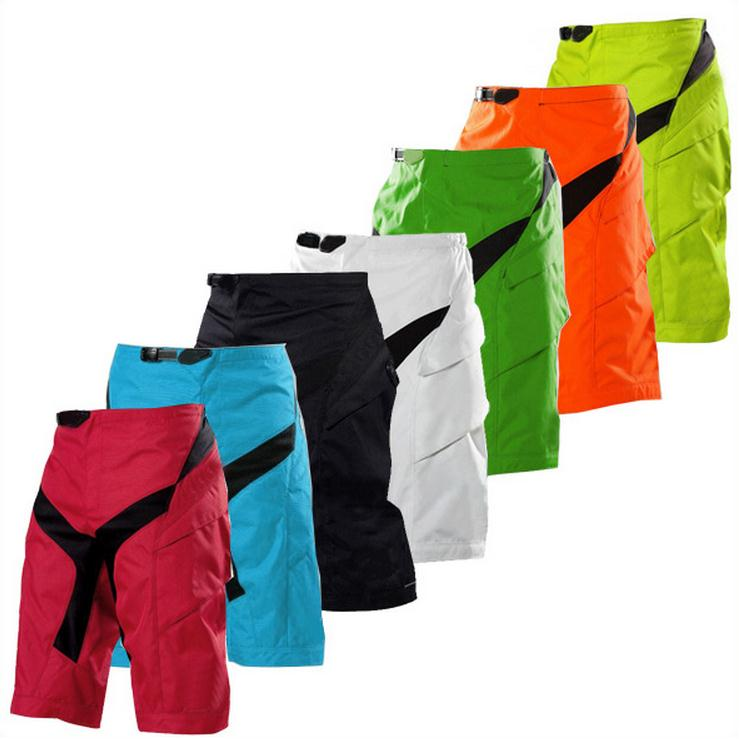 Men Motocross Downhill shorts MTB BMX Offroad Shorts Mountain Bike Outdoor sports Shorts Motorcycle Bicycle Shorts with Hip pads