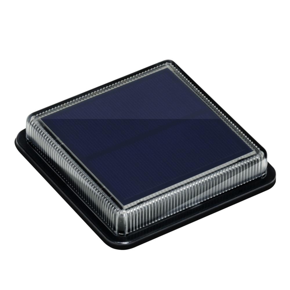 8 шт. светодиодный солнечный светильник на открытом воздухе Водонепроницаемый лестницы потолочные светильник Настенный Встраиваемая садо